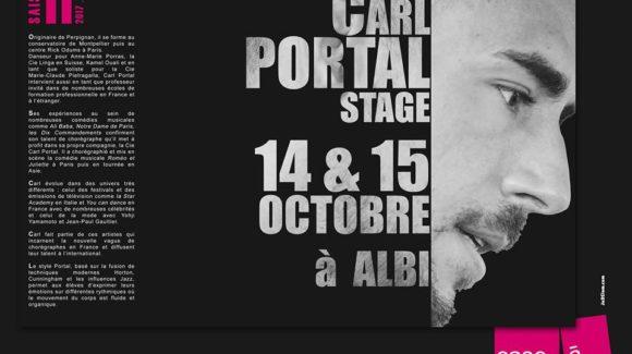 Stage Carl Portal   14/15 Oct