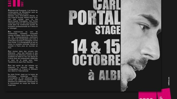 Stage Carl Portal   14/15 Oct