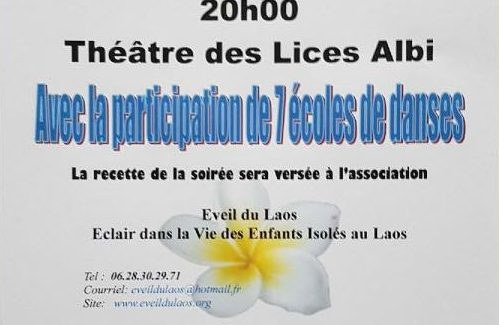 Spectacle au profit du LAOS