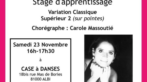 Carole Massoutié [Stage]