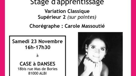 Carole Massoutié [Stage]